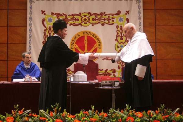 7. Investidura de Richard Serra como Doctor Honoris Causa