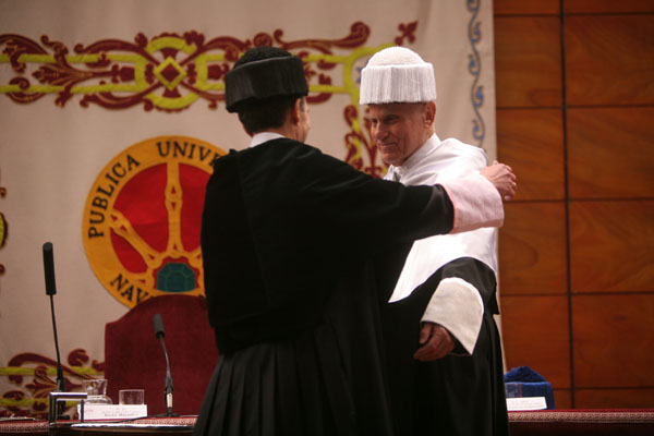 11. Investidura de Richard Serra como Doctor Honoris Causa