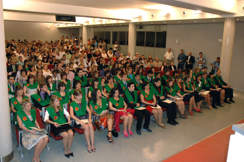 Graduation of Physiotherapy (2010).