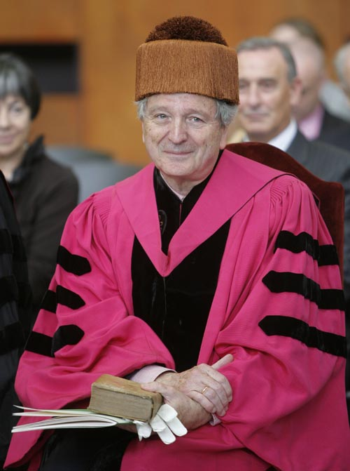 El doctor honoris causa, Rafael Moneo Vallés.