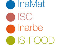 Institutos de investigación: InaMat, ICS, Inarbe, ISFOOD