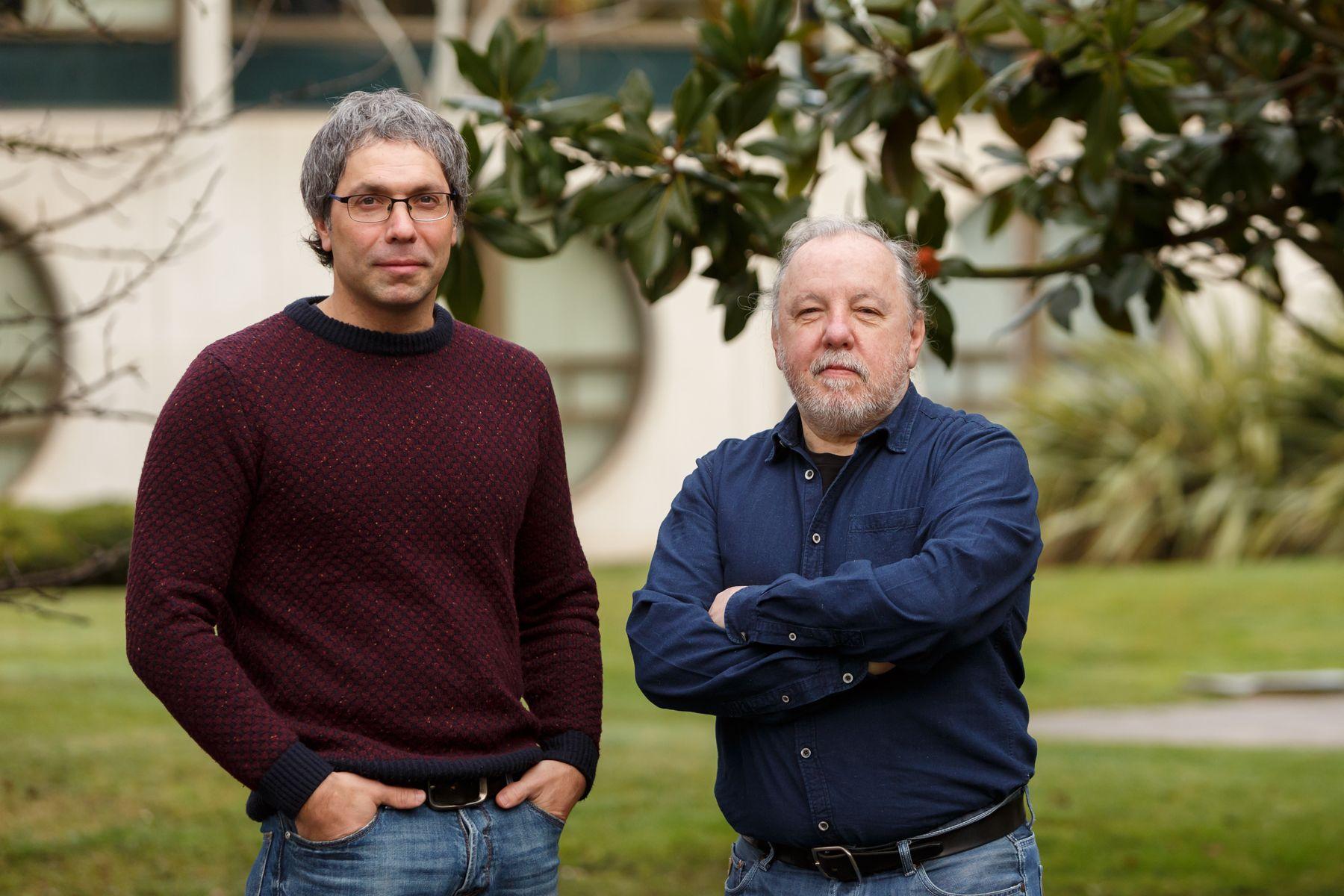 Natxo Esparza (izda.) y Carlos Vilches.
